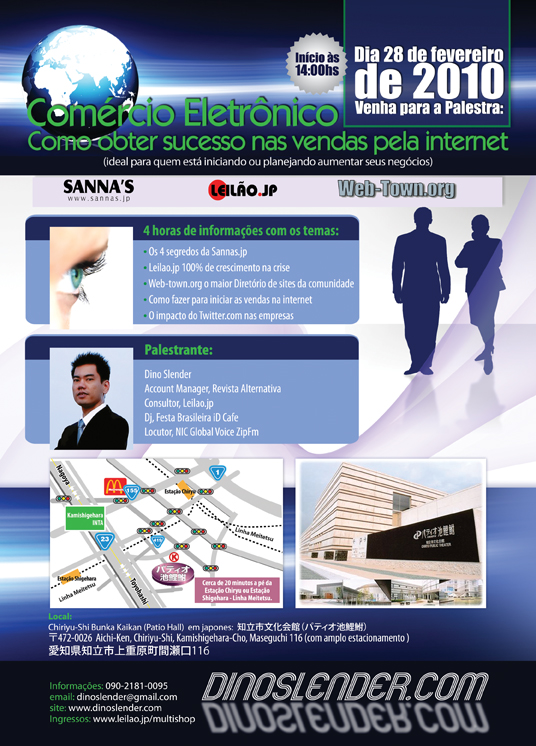 Palestra - Comercio eletronico