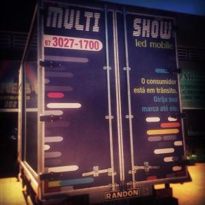 caminhão led mobile